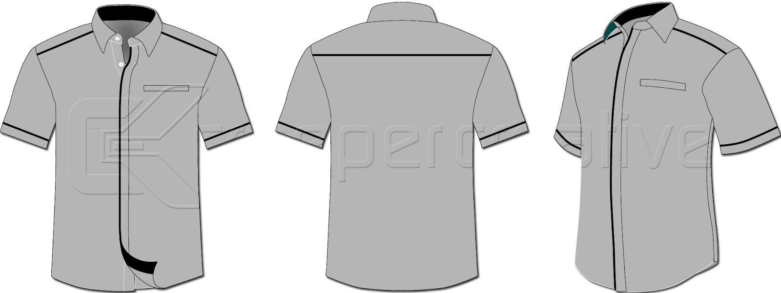 Corporate Shirt Cs 02 Series Casual Work Uniform Shop